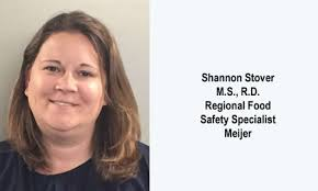 Food Safety Specialist Retail Dietitian Close Up Shannon Stover M S R D