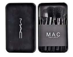 m a c makeup brush set 12pcs set