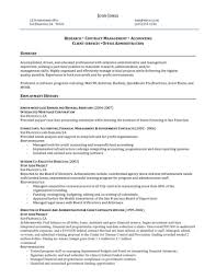 Sample Government Resume Administrative Assistant