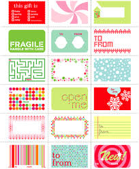 Free Christmas Gift Tags And Labels  Skip To My LouChristmas Gift Tag Design