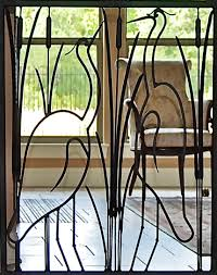wrought iron indoor furniture. Indoor Iron Gate Austin Texas Close Up IG5 Wrought Furniture
