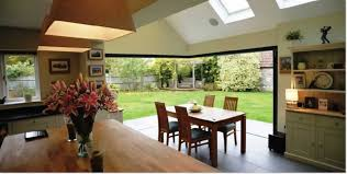 bi folding doors for your kitchen