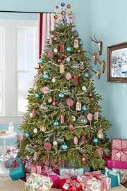 Poinsettia Christmas Tree Lights Uk 50 Decorated Christmas Tree Ideas Pictures Of Christmas