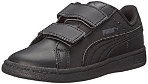 puma leather shoes. puma smash l v kids classic sneaker (infant/toddler/little kid/big kid puma leather shoes