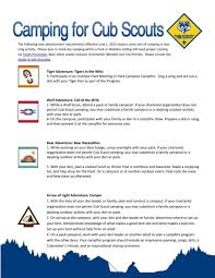 Guide To Safe Scouting Chart Pin On Cub Scouts