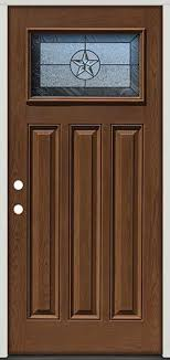 prefinished entry doors. pre-finished oak fiberglass door craftsman star #30 - front entry from prefinished doors a