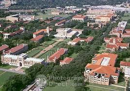 rice university campus aerial. Plain University Aerial View Of Rice University Campus  HOUSTON  TX  And C