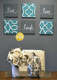 painting artwork on walls eat drink be merry wall art pack of 6 canvas wall hangings