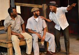 gloucester stage presents wilson s powerful fences mark their policy of whites only driving the rubbish trucks while the blacks must do the heavy lifting of the trash barrels