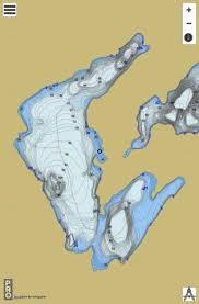 Lac Cameron Fishing Map Ca_qc_lac_cameron_qc Nautical