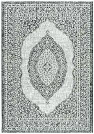 hampton bay outdoor rugs bay indoor outdoor rugs bay outdoor rugs light grey black home depot