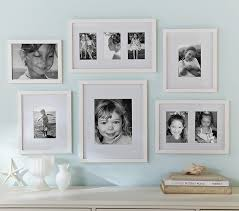 white gallery wall frames in a box set
