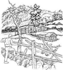 snowy cabins coloring pages printable and coloring book to print for free find more coloring pages for kids and s of snowy cabins