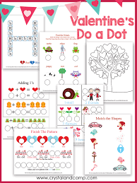 Heart Shaped Do a Dot Printables