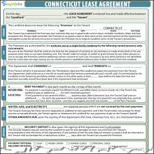 Rental Lease Agreements Connecticut Rental Lease 14