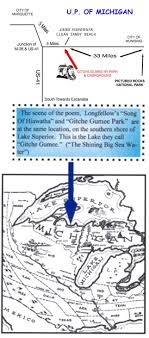 gitchee gumee song of hiawatha gitche gumee map and security