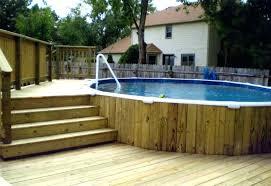 above ground pool deck kit ground pool decks with wooden deck pool design wood swimming pool above ground pool deck kit