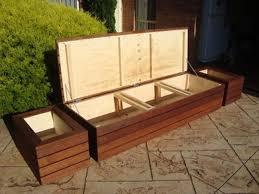 stunning patio bench storage best 25 patio storage bench ideas on