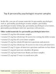 sample school psychologist resumes school psychologist resume sample psychology example best gallery