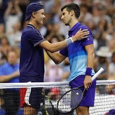 1 by the association of tennis professionals. Novak Djokovic Facebook