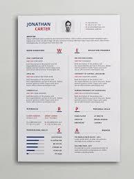 Gallery Of Modern Resume Template The Elliot Grey 40 Best Free