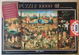 image of the puzzle 10000 educa the garden of earthly delights hieronymus bosch