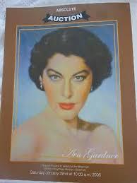 2005 AVA GARDNER Myra Gardner Pearce Estate Auction Catalog - £36.92 |  PicClick UK