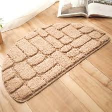 solid blue area rug 4x6 us off rugs for home half round door mat entrance foot