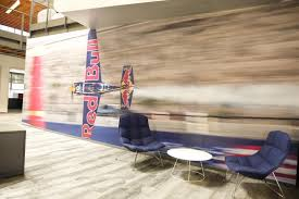 red bull office. The Dynamic Energy Of Red Bull\u0027s Culture Is Reflected In Every Aspect Their New Expanded Offices. Bull Office