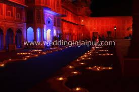 City Palace Light Show In Jaipur Wedding Event City Palace Jaipur