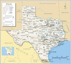 reference map of texas usa  nations online project
