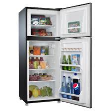 refrigerator 7 5 cu ft. whirlpool 4.6 cu. ft. compact refrigerator - stainless steel bcd-133v62 7 5 cu ft s