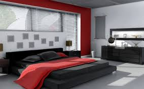 Red Color Bedroom Red And Orange Color Bedroom White Fabric Bed Cover Grey Granite