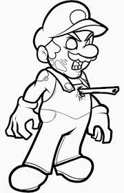 Halloween Zombie Coloring Pages Getcoloringpagescom