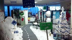 christmas themes for the office. Wonderful For Cubicle Decorating  Intended Christmas Themes For The Office T