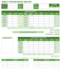 Expense Report Spreadsheets Free Expense Report Templates Smartsheet