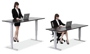 new sitting and standing desk in crank adjule at stand sitting standing desk