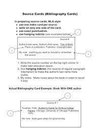 Research Paper Example With Sources Sample Papers In Mla Style