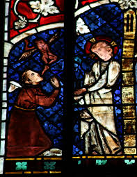 file strasbourg cathedral stained glass windows healing the demon possessed