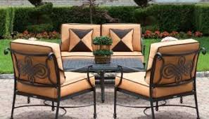 Wrought Iron Black Swivel Patio Bar Chairs 2 Pack Outdoor Garden