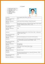 Cv Example For Job Application 2 Heegan Times