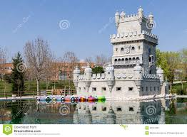 Belem Tower in Madrid stock image. Image of castle, leisure - 40151265