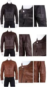 a high fashion biker jacket constructed from sheep nappa ontario leather which means the leather is of a top selection with aged vintage affect