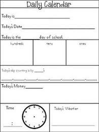 Calendar Printables For Kindergarten#1374984 - Myscres