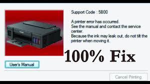 Canon Mg2440 Error Lights Canon Support Code 5011 How To Fix Canon Printers Error