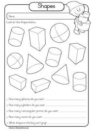 Mrs  Ricca's Kindergarten  Solid Shapes Geometry Unit   FREEBIE besides Plane Shapes and Solid Figures Activity   pare and contrast together with Best 25  3d shapes kindergarten ideas on Pinterest   3d shapes  3d likewise  additionally Solid Figures  Shape Up    Worksheet   Education furthermore Free Worksheets » Shape Worksheets First Grade   Free Math furthermore 14 best 2de ljr congruentie images on Pinterest   School  Math also 24 best Math  Shapes images on Pinterest   Shape anchor chart further 3d Shapes Worksheets in addition 3d shapes worksheets   3D Shape Challenge   properties of 3d moreover 3d Shapes Worksheets. on math worksheets first grade solid figures