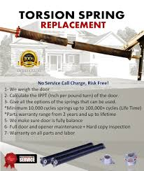 garage door tension springGarage Door Torsion Springs