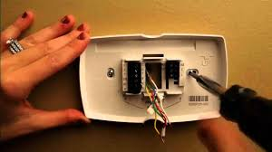 honeywell installing a thermostat youtube Honeywell Rth3100c Wiring Diagram Honeywell Rth3100c Wiring Diagram #96 honeywell rth3100c thermostat wiring diagram