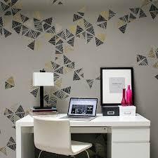 modern office walls. Modern Office Wall Stencil Kit Walls