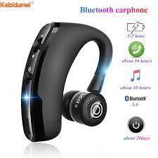 Kebidumei Tai Nghe V9 Không Dây Bluetooth 4.1, Tai Nghe Earbud Tai Nghe  Doanh Nhân, Tai Nghe Giảm Tiếng Ồn Có Mic Dành Cho Android